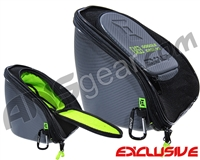Exalt V3 Universal Carbon Goggle Case - Charcoal/Lime
