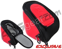 Exalt V3 Universal Carbon Goggle Case - Red/Grey