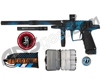 Field One/Bob Long Ripper G6R Intimidator - Teal/Black Acid Wash