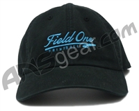 Field One Dad Adjustable Hat - Black