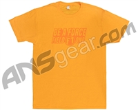 Field One Be A Force T-Shirt - Gold