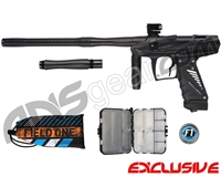 Bob Long Victory V-Com Paintball Gun - Dust Black