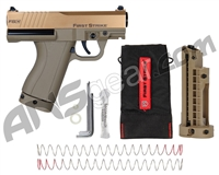 First Strike Compact FSC Paintball Pistol - Bronze/Tan