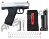 First Strike Compact FSC Paintball Pistol - Silver/Black