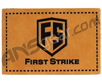 First Strike Leather Velcro Morale Patch