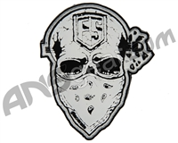 First Strike Skull Velcro Morale Patch