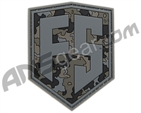 First Strike Rubber Velcro Patch - Shield - Urban