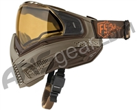 First Strike Push Unite Goggles - Tan/Brown