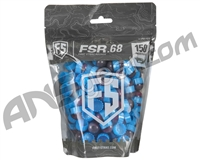 Tiberius Arms First Strike Paintballs 150 Count - Smoke/Blue Shell - Pink Fill