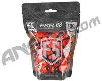 Tiberius Arms First Strike Paintballs 150 Count - Smoke/Orange Shell - Orange Fill