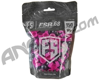 Tiberius Arms First Strike Paintballs 150 Count - Smoke/Pink Shell - Pink Fill