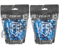 Tiberius Arms First Strike Paintballs 300 Count - Smoke/Blue Shell - Pink Fill