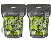 Tiberius Arms First Strike Paintballs 300 Count - Smoke/Yellow Shell - Yellow Fill