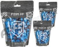 Tiberius Arms First Strike Paintballs 450 Count - Smoke/Blue Shell - Pink Fill