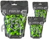 Tiberius Arms First Strike Paintballs 450 Count - Smoke/Green Shell - Green Fill