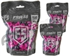 Tiberius Arms First Strike Paintballs 450 Count - Smoke/Pink Shell - Pink Fill