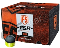 Tiberius Arms First Strike Paintballs 600 Count - Smoke/Yellow Shell - Yellow Fill