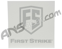 "First Strike 6"" Decal (Single) - Silver (581-10-5914)"