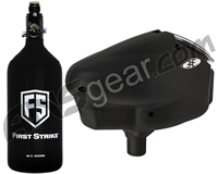 First Strike 48/3000 Flat-Bottom Tank w/ Empire Halo Too Loader Package Kit