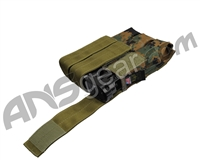 Full Clip Tiberius Triple Mag Pouch - Woodland Dig