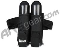 Gameface Visible Impact 2 Pod Paintball Harness - Black