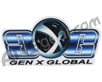 Gen X Global Logo Sticker