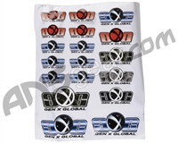 Gen X Global Sticker Sheet - 18 Stickers