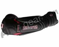 GI Sportz Paintball Elbow Pads - Black/Red