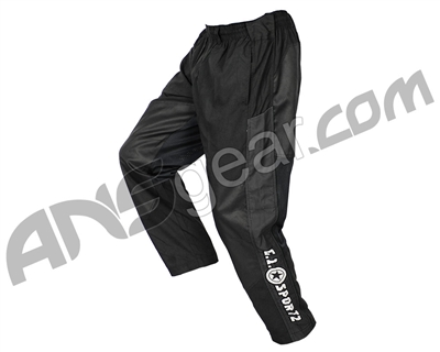 GI Sportz Grind Paintball Pants - Black/Black
