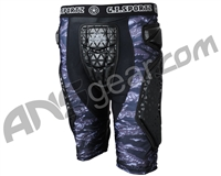 GI Sportz Race 2.0 Series Slide Shorts - Black