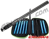 GOG Complete Freak XL Carbon Fiber Barrel Kit w/ Blue Inserts - Tippmann A5