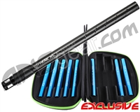 GOG Complete Freak XL Carbon Fiber Barrel Kit w/ Blue Inserts - Autococker