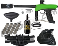 GoG eNMEy Legendary Paintball Gun Package Kit - Freak Green