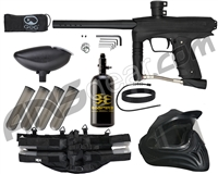 GoG eNMEy Legendary Paintball Gun Package Kit - Jet Black