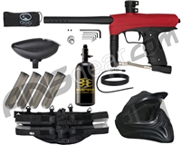 GoG eNMEy Legendary Paintball Gun Package Kit - Racer Red