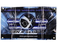 "Gen X Global Make Your Mark Banner - 23"" x 14"""