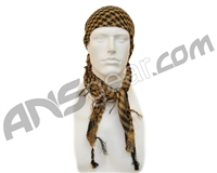 Gen X Global Special Forces Head Wrap Checkers - Tan