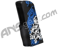 Gen X Global Skull Graffiti 45 Grip - Black/Blue/White