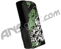 Gen X Global Skull Graffiti 45 Grip - Black/Green/White