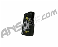 Gen X Global Rockstar 45 Grip - Black/Grey/Yellow