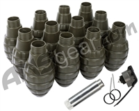 Hakkotsu Thunder B CO2 Sound Grenade Complete Kit - Pineapple