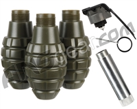 Hakkotsu Thunder B CO2 Sound Grenade (3 Pack) - Pineapple
