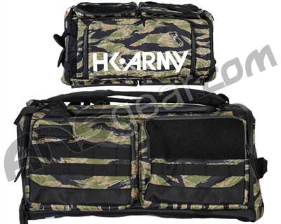 HK Army Expand Backpack/Gear Bag - Woodland Tiger Stripe