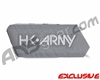 HK Army Ball Breaker 2.0 Barrel Condom - Silver/White