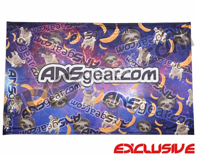 "HK Army ANSGEAR Banner - 41"" x 26"" - Sloth Party"
