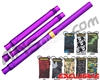 HK Army Autococker Threaded XV Barrel Kit w/ Free Magnum Barrel Condom - Electric Purple