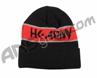 HK Army Attack Beanie - Black/Red
