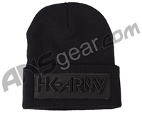 HK Army Blackout Beanie - Black/Black