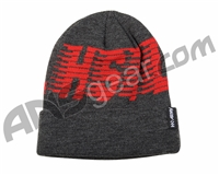 HK Army HSTL Beanie - Black/Red