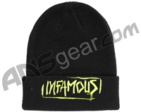 HK Army Infamous Graffiti Beanie - Black